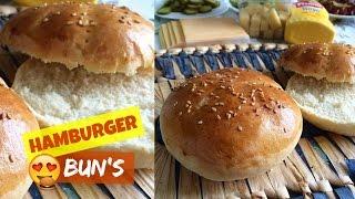 Pain à hamburger (Bun's) Fait-maison - Simple et rapide