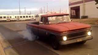 1963 C10 burnout
