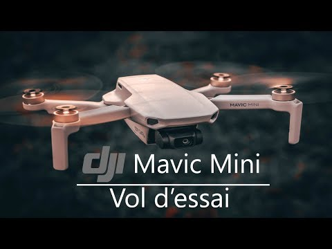 DJI Mavic Mini - Premier Vol - Jardin Botanique De Montréal