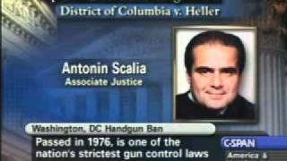 USSC District of Columbia V. Heller Oral Arguments