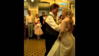 Элегантный свадебный танец: медленный вальс!
