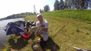 Ловля большого леща на реке Гауя. OK COPE SPORT