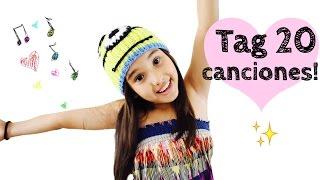 TAG 20 CANCIONES ♥️ | Gibby