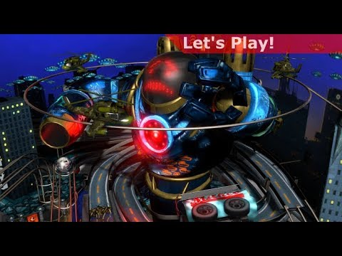 Let's Play: Pinball FX3 [Sci-Fi Pack]