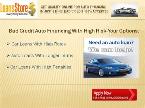High Risk Auto Financing