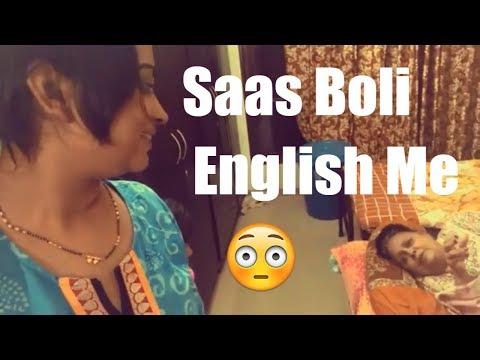 saas-ne-chokaya-hume-english-me-baat-karke---kadwa-karela-saturday- -indian-mom-on-duty