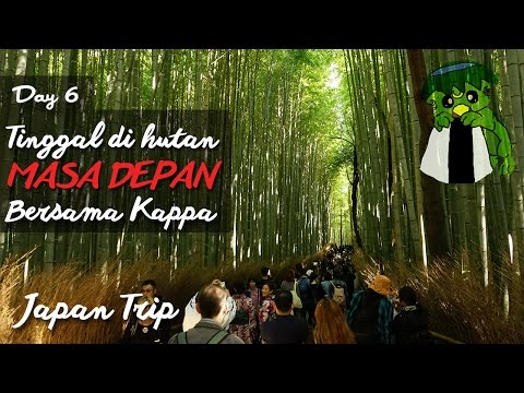 Travel Vlog JEPANG Hari ke 6 : ARASHIYAMA, FUSHIMI INARI dan KAPPA / AWI WILLYANTO