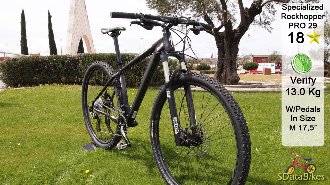 f4c799d59 Specialized Rockhopper PRO 29. Mountain Bike Channel