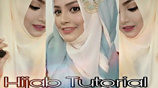 Hijab Tutorial || Easy Hijab Tutorial || Rakhi's Beauty World