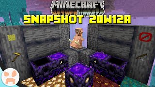 New Spawn Anchor Block, AFK Fishing REMOVED, + more! | Minecraft 1.16 Nether Update Snapshot 20w12a