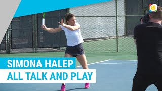 Simona Halep is all talk and play | Stachi meets | myTennis
