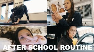 School Night Routine *senior year*