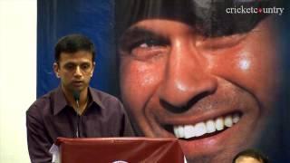 Rahul Dravid mimics Sachin Tendulkar thumbnail