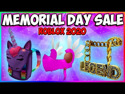 Memorial Day Sale 2019 Roblox New Limiteds As Rare Items Youtube Roblox Memorial Day Sale 2020 New Items Limiteds Roblox Live Stream Youtube
