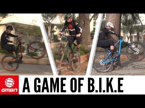 Game Of B.I.K.E With Neil, Scott And Blake   Mountain Bike Skills
