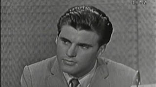 What's My Line? - Rick Nelson; Max Shulman [panel] (Aug 30, 1959)