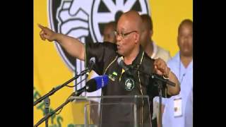 President Zuma addresses ANC Conference