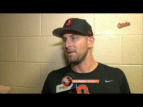 Darren O'Day and Buck Showalter on challenges of six-man bullpen