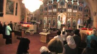 St. Gregory Russian Orthodox Church Easter Service 2009