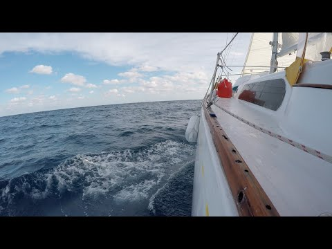 400 mile Gulf Of Mexico Crossing to Tampa Bay - Ep. 304