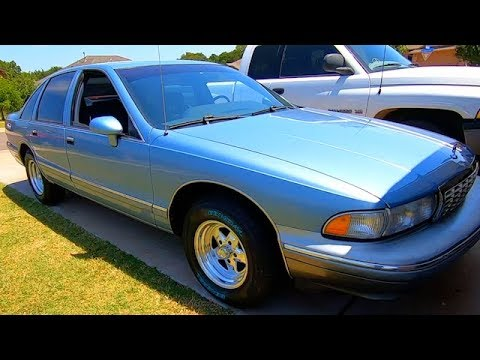 Coaprt $375 93 Chevy Caprice UPGRADE TIME!! Chip + Rims + Stereo