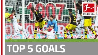 Kagawa, Goretzka, Yarmolenko and More  - Top 5 Goals on Matchday 07