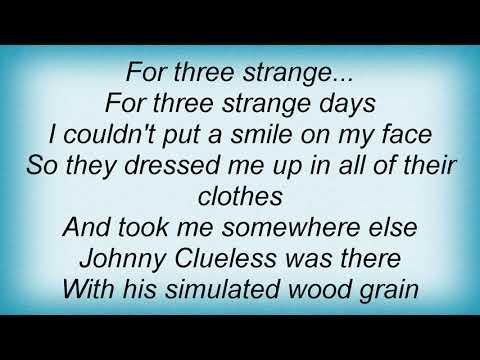 School Of Fish - 3 Strange Days Lyrics