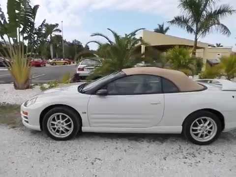 2001 Mitsubishi Eclipse Convertible Gt