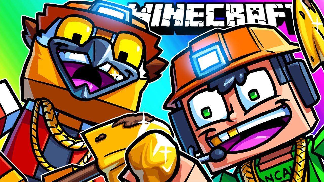 Minecraft Funny Moments - We Be Gold Diggers!