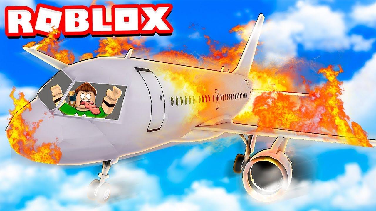 Nos Convertimos En El Peor Piloto De Aviones De Roblox - survive plane crash roblox