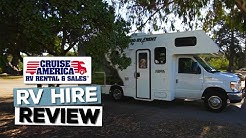 Cruise America RV Rental: Review, Our Impressions and Hiring Tips | Standard Model c25