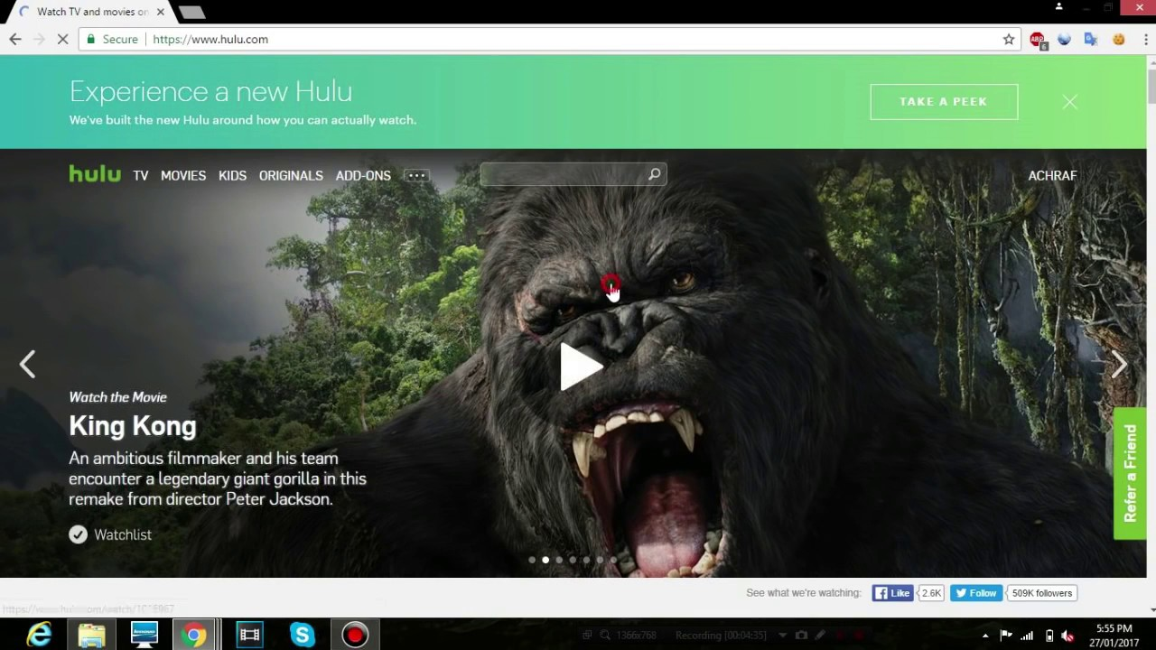 Free Hulu Trial Without Credit Card