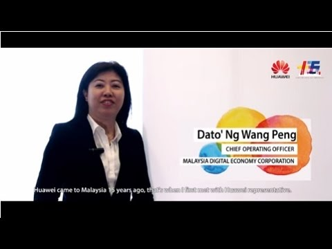 MDEC's (Malaysia Digital Economy Corporation) Interview for Huawei Malaysia 15th Anniversary