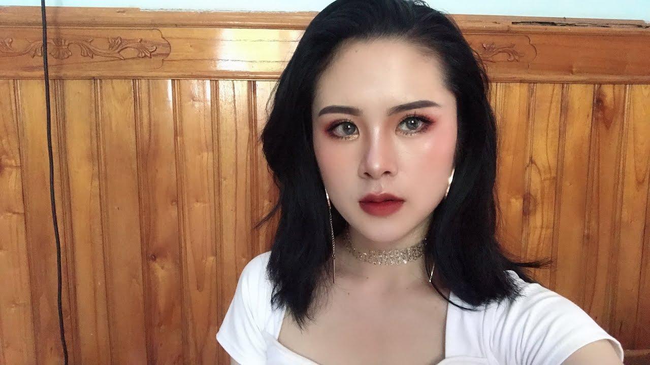 Hướng dẫn make up tông đỏ nâu ngầu lòi😎 – Cool makeup tutorial ❤️