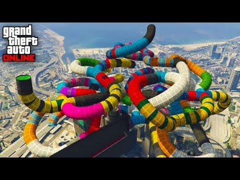 1.000% IMPOSIBLE! TUBOS TROLL!! - CARRERA GTA V ONLINE - GTA 5 ONLINE