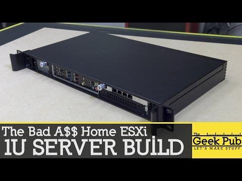 Building a 1U Server Bad A$$ 1U Server