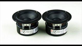 динамики с aliexpress Audio labs 3 дюйма DQ30TZF-02 распаковка и определение резонансной частоты
