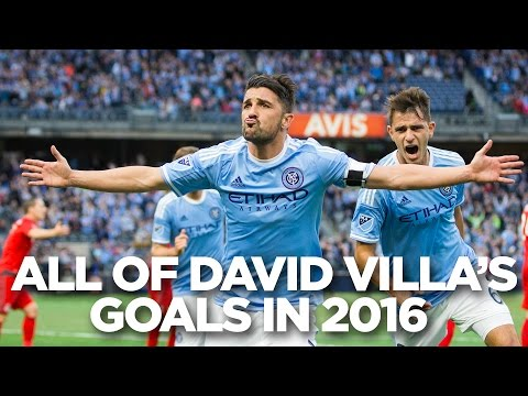 All of David Villa's Goals in 2016