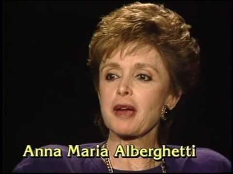 Anna Maria Alberghetti--Rare TV Interview