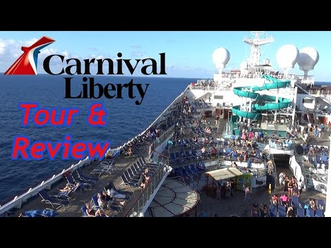 Carnival Liberty Tour & Review with The Legend