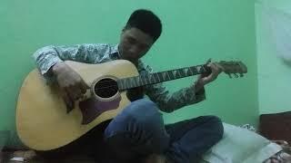 Guitar. Sang ngang