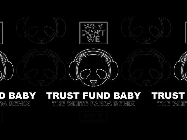 Why Don't We - Trust Fund Baby (The White Panda Remix)
