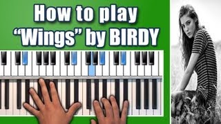 "Video Birdy - ""Wings"" piano tutorial - How to play piano chords - Fire Within Album - Nikolas Nunez download MP3, 3GP, MP4, WEBM, AVI, FLV Juni 2018"