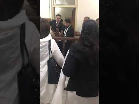 Lawyers Beating Poor man in court room