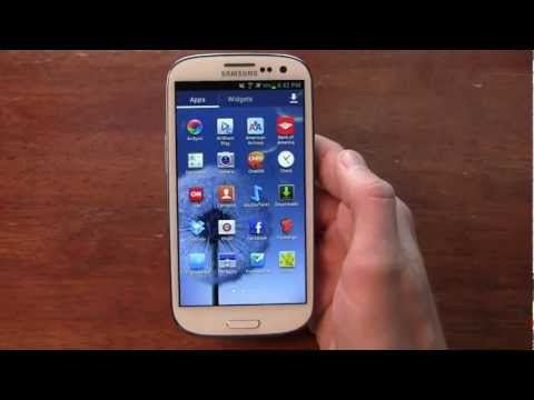 Samsung Galaxy S III Review Part 1