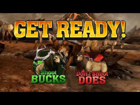 Buckzilla Trek # 3 - Big Buck Wild, Raw Thrills (Direct Capture) |
