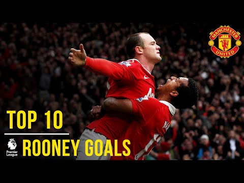 Wayne Rooney: Top 10 Premier League Goals