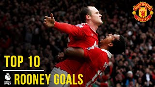 Wayne Rooney39s Top 10 Premier League Goals  Manchester United