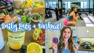 Daily Eats, Superfood Haul, + Workout!