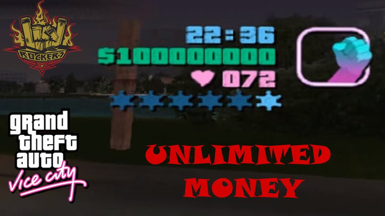 how to get unlimited money in gta vice city youtube